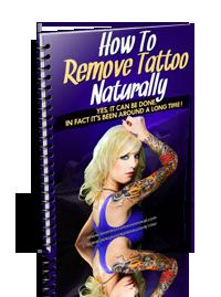 Remove Tattoos Naturally