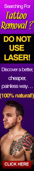 Tattoo Removal Natural